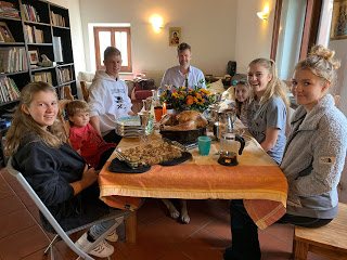 Thanksgiving in Frascati