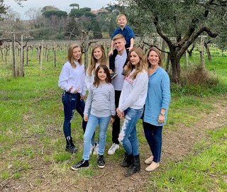 Day 9–Homeschool and then a Walk in the Vineyard