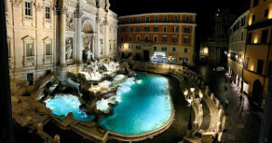 Bliss at the Trevi
